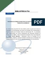 Programa de Normas Da Biblioteca FIA Para Padronização de Trabalhos Acad... (1)