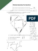 D1 Minimum Spanning Tree Notes