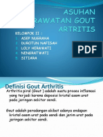 Asuhan Keperawatan Gout Artritis