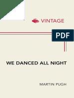 We Danced All Night - Martin Pugh