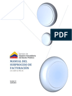 Manual Del Subproceso de Facturación