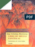 Ana Cristina Herreros - Libro de Brujas Españolas