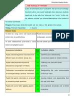 Plan de unidad didáctica inglés