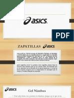 Zapatillas Asics Investigacion