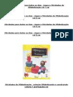 Material Para Atividades Pedagogicas Todos Niveis