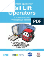 Guide - Tail Lift Operators – a Simple Guide