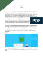 carp analysis - google docs
