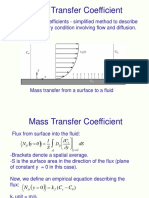 Mass Transfer in Boundary Layer