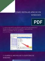 Como instalar apache en Windows.pptx