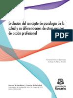 Evolución Del Concepto de Psicología de La Salud y Su Diferenciación de Otros Campos