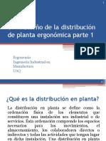 U- VI Diseño de La Distribución de Planta