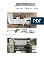 Slitting and Cutting With Packing Machine Quotation