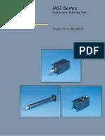 HGF Series Hydrostatic Steering Unit Catologue