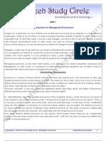Unit-1_introduction to Managerial Economics