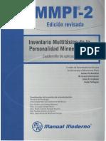 MMPI-2. Cuadernillo de aplicación.pdf