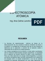 Análisis de Alim! Espectroscopia Atomica
