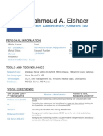 Mahmoud Elshaer Resume UAE