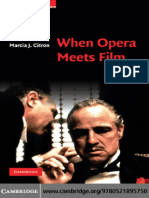 Marcia J. Citron-When Opera Meets Film (Cambridge Studies in Opera)-Cambridge University Press(2010)