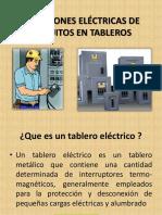 Conexiones Eléctricas de Circuitos en Tableros