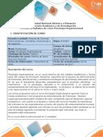Syllabus Psicología Organizacional