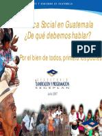 Política Social en Guate. ¿De qué hablamos.pdf
