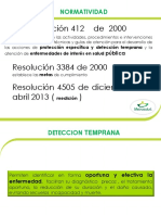 RESOLUCION 412 DE PYP
