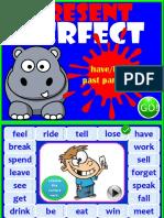 Present Perfect Game Clt Communicative Language Teaching Resources Fun 90430
