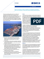 Port Capabilities and Selected Project Sheets