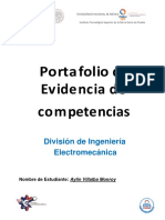 Estructura de Portafolio de Evidencias 2017[1]