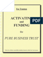 Activating Funding Pure Business Trust