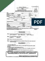 PRC ID Renewal Form
