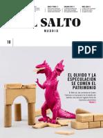 El olvido y la especulación se comen el patrimonio (Diario El Salto Madrid - Febrero 2018)