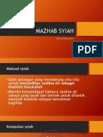 MAZHAB SYIAH