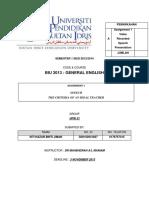 ASSIGNMENT 1 D20102041827
