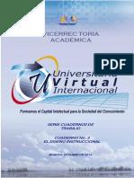 Uvirtual 2013 Diseno Instruccional