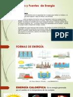 Formas y Fuentes de Energía
