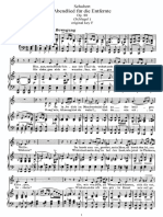 Schubert - Abendlied Für Die Entfernte Low