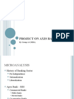 Project on Axis Bank