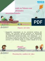 Presentacion Sobre Habilidades Socioemocionales 100118
