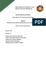 Hidrólisis de Proteína (Albúmina) Por La Enzima Pepsina