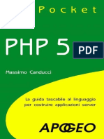 PHP 5 Pocket (Italian Edition) - Canducci, Massimo