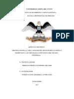 Articulo Derecho Penal II