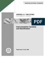 ISA 5.1-Instrument Symboles