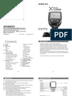 Godox = XProF, XPro-F = Manual v2017-12-29