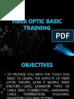 Fiber Optic Basic Training 2