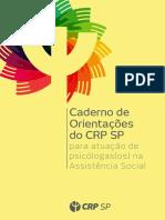 Caderno de Orientações Do CRP SP