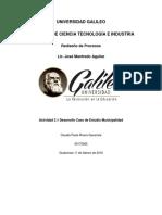 Actividad 3.1 Claudia Paola Rivera 09170065