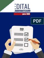 Edital Esquematizado Para Oab