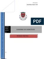 Caderno de Exercícios - Futsal