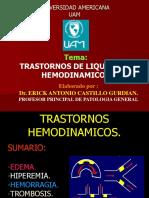 trombosis,embolia, infarto.